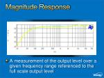 magnitude response1