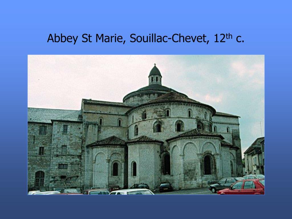 Abbey St Marie, Souillac-Chevet, 12