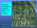 gislebertus last judgment tympanum detail autun france c 1120 35