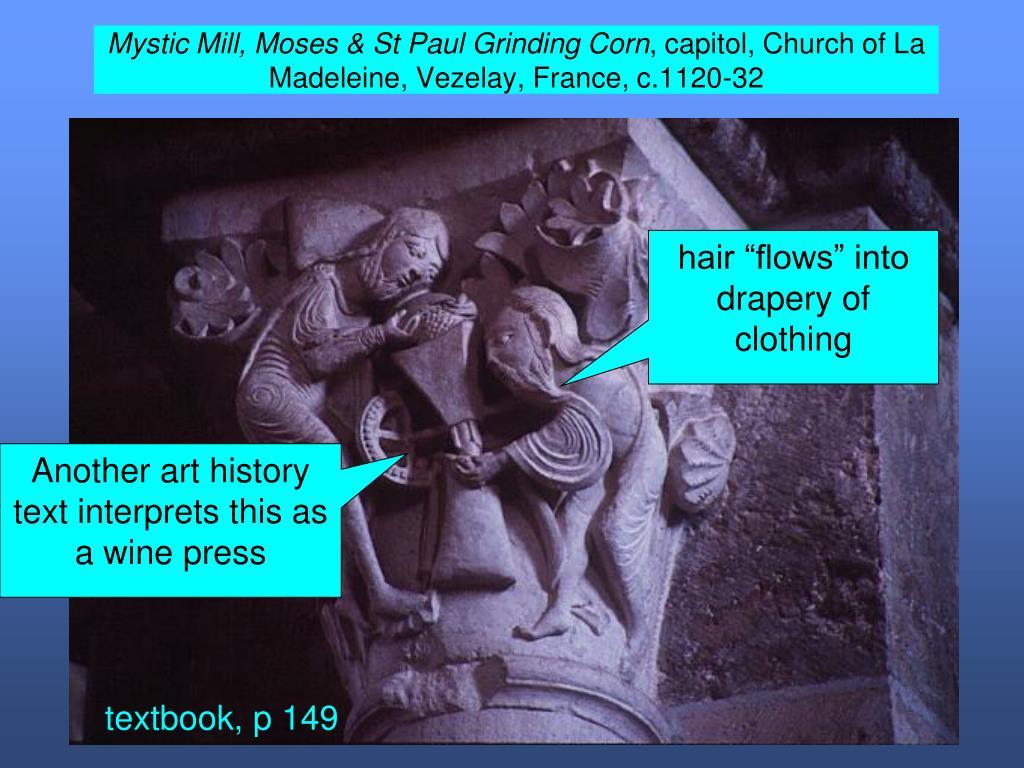 Mystic Mill, Moses & St Paul Grinding Corn