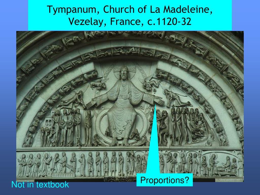 Tympanum, Church of La Madeleine, Vezelay, France, c.1120-32