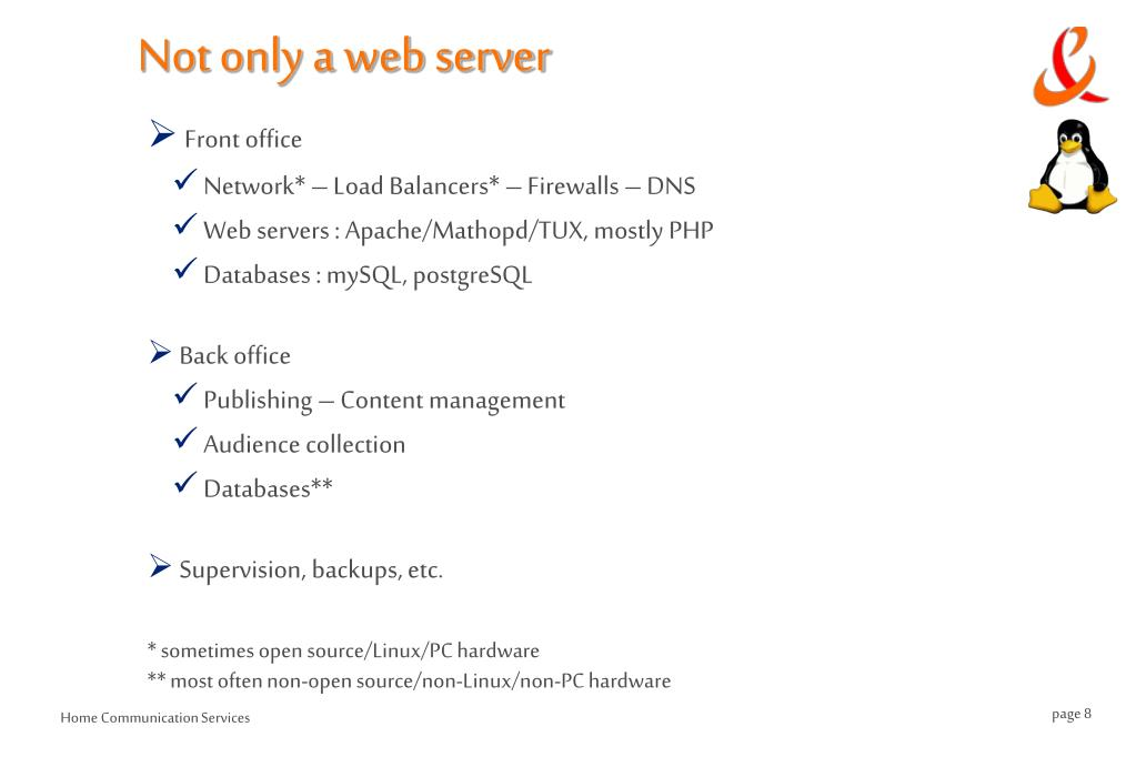 Not only a web server