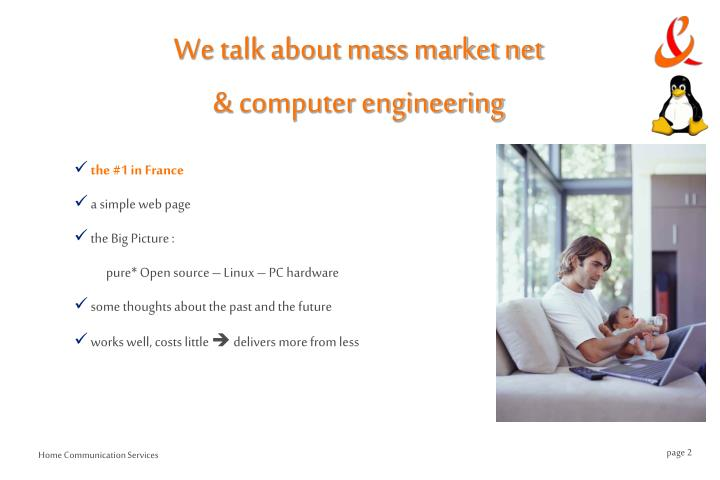We talk about mass market net computer engineering