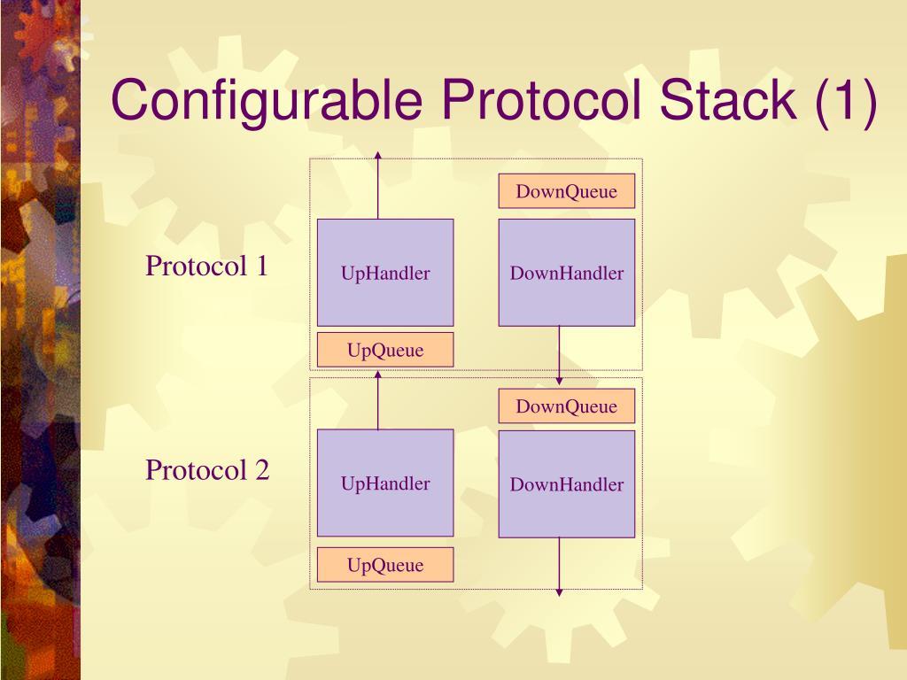 Configurable Protocol Stack (1)