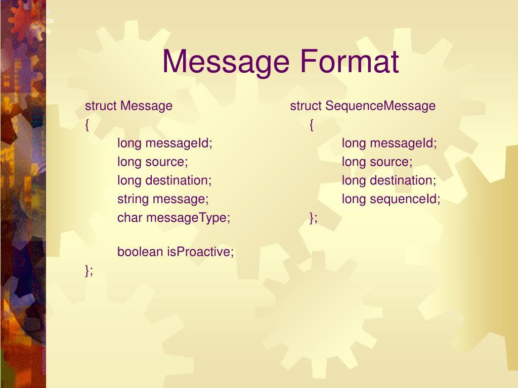 struct Message