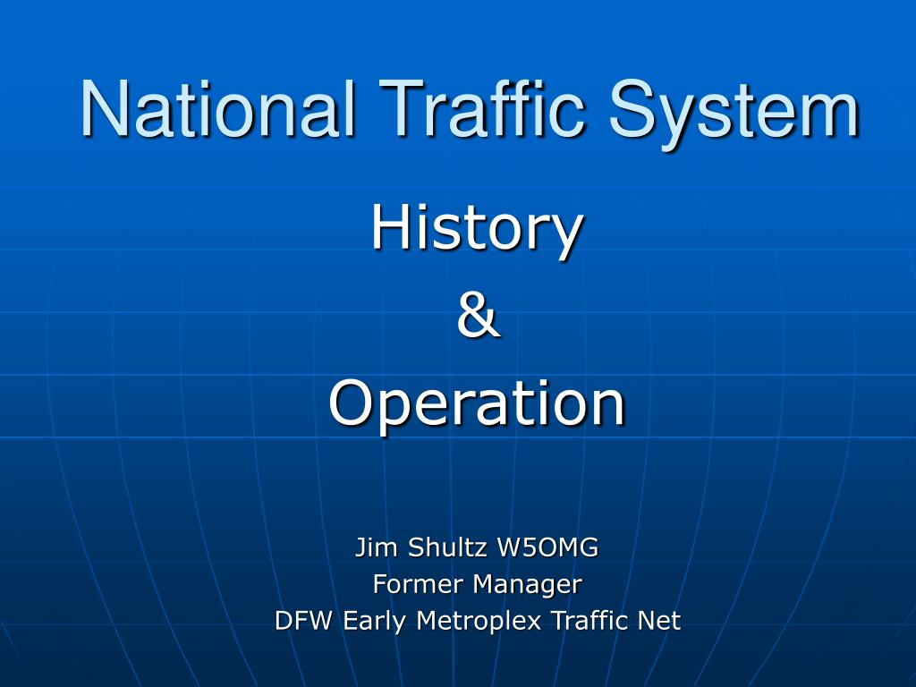 national traffic system l.