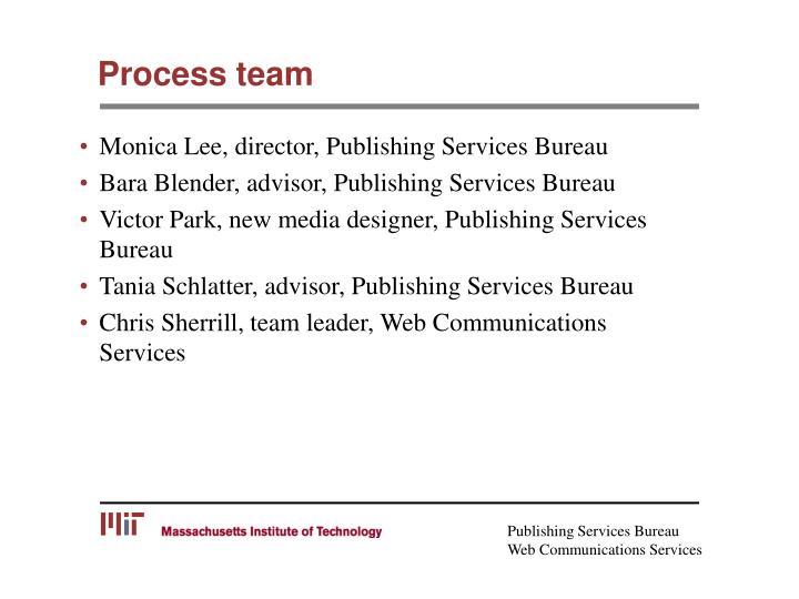 Process team