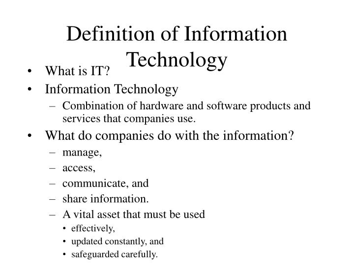 what are the differences between the four main types of information technology audits Enjoy this article as well as all of our content, including e-guides, news, tips and more i like to think of the computer's memory as a washing machine, the place where you actually do the washing and the work gets done, versus the water storage container, which is like the computer's disk drive.