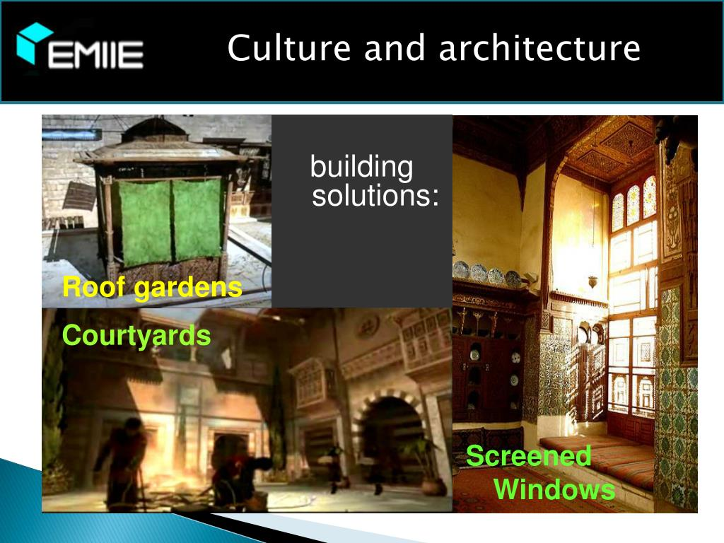 Culture and architecture