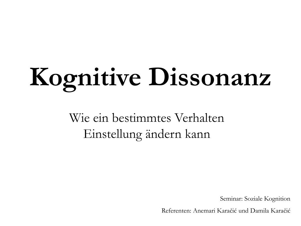 Kognitive Dissonanz Wikipedia 1