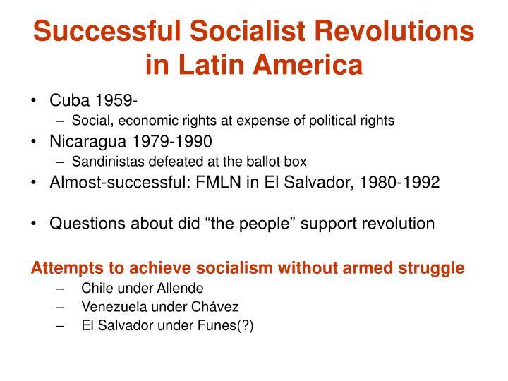 Successful Socialist Revolutions