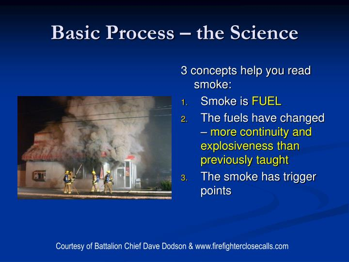 Basic Process – the Science