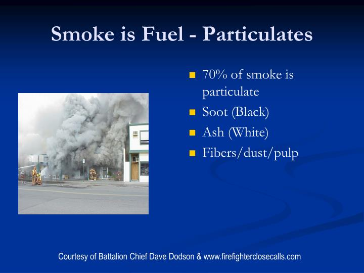 Smoke is Fuel - Particulates