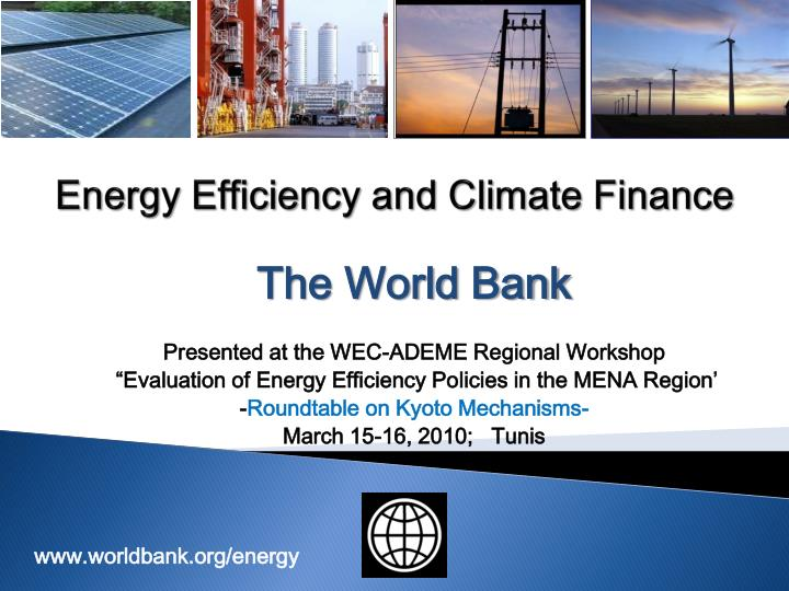 energy efficiency and climate finance n.