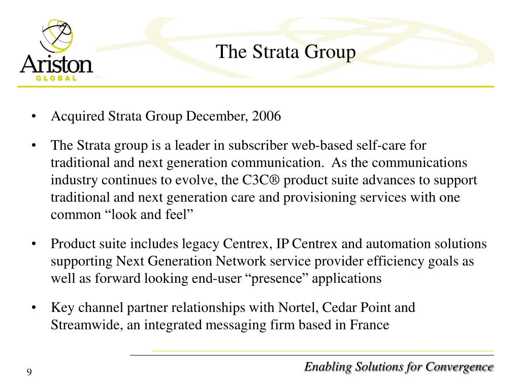 The Strata Group