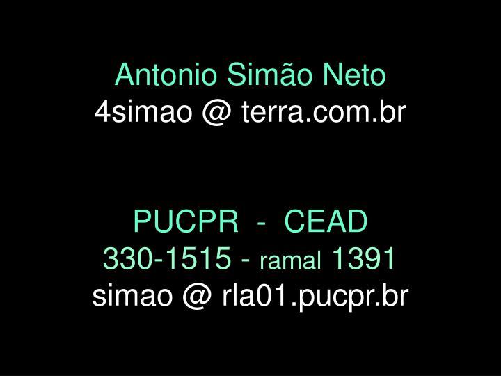 Antonio Simão Neto