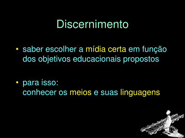 Discernimento