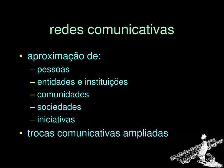 redes comunicativas