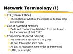network terminology 1