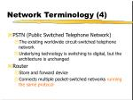 network terminology 4