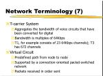 network terminology 7