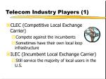 telecom industry players 1