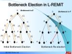 bottleneck election in l remit