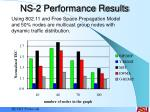 ns 2 performance results25