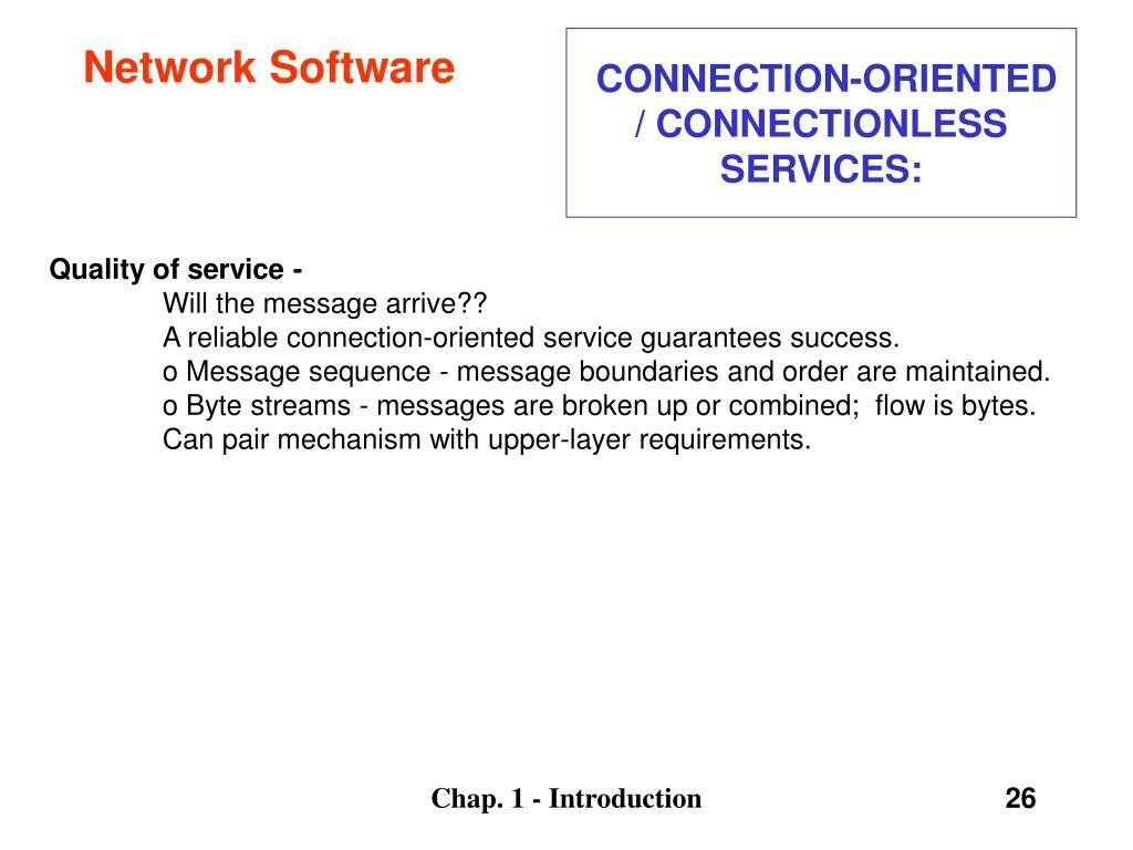 Network Software