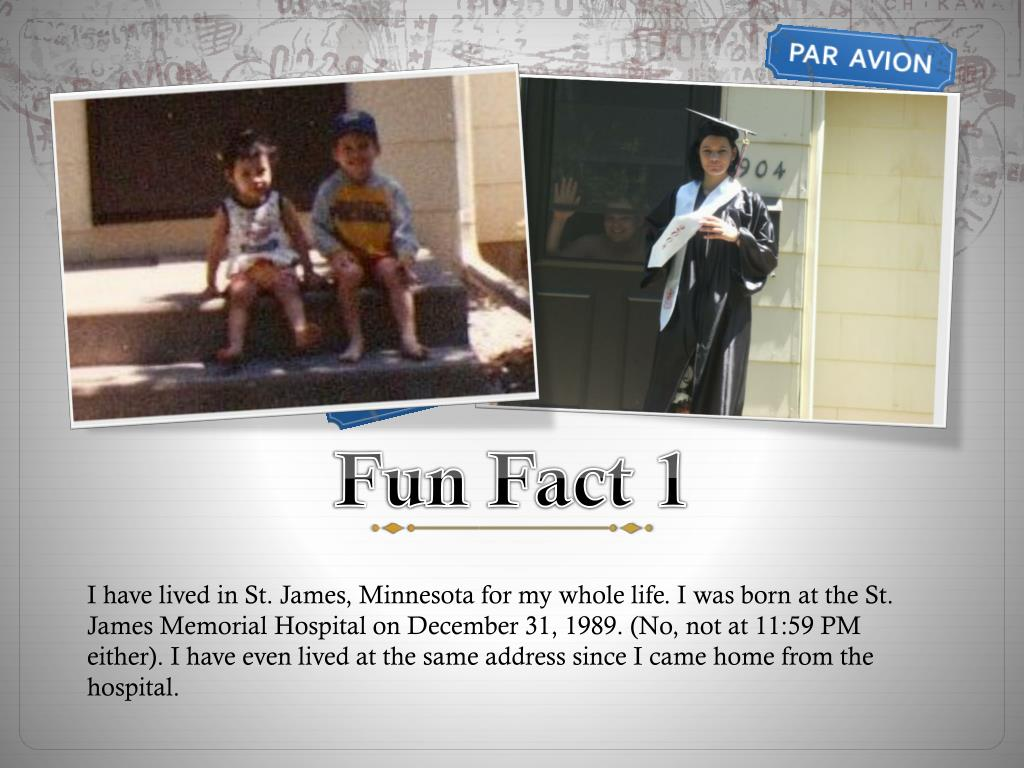 Fun Fact 1