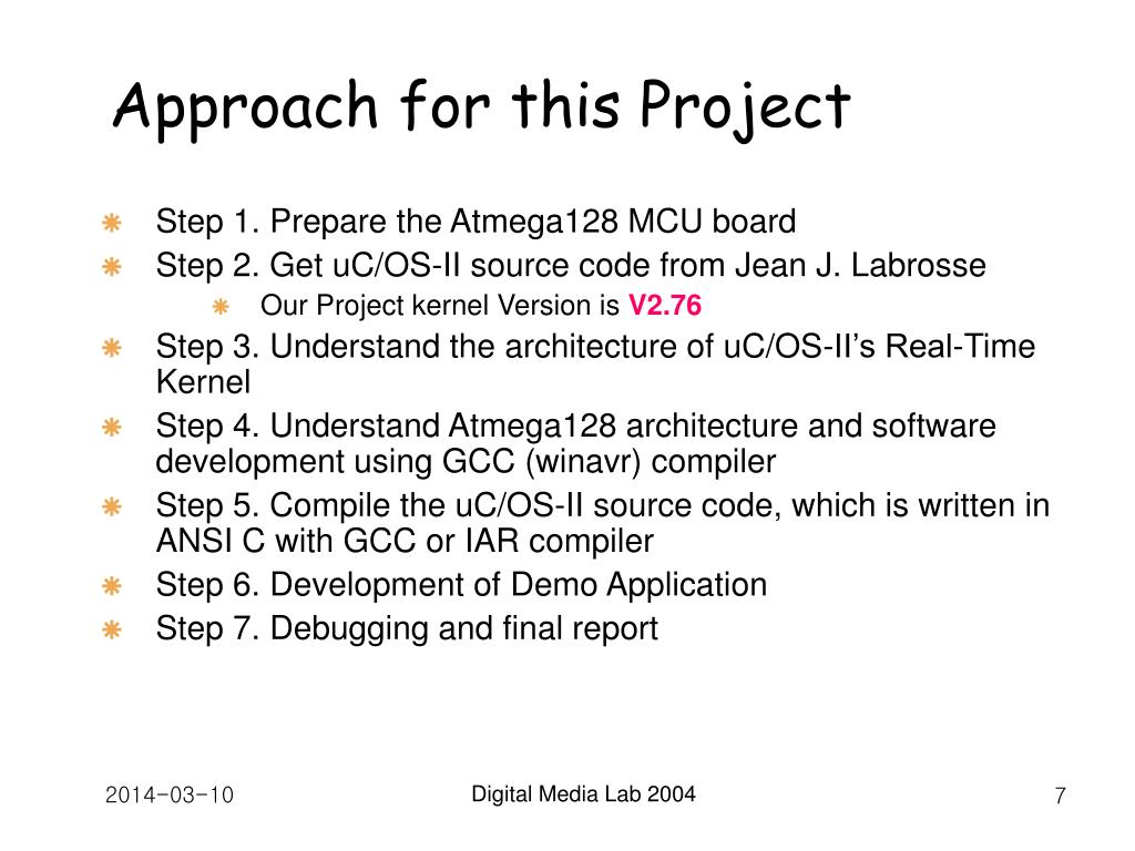 Approach for this Project