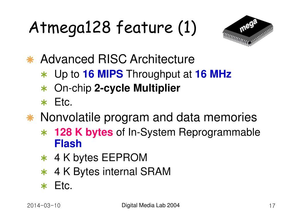 Atmega128 feature (1)