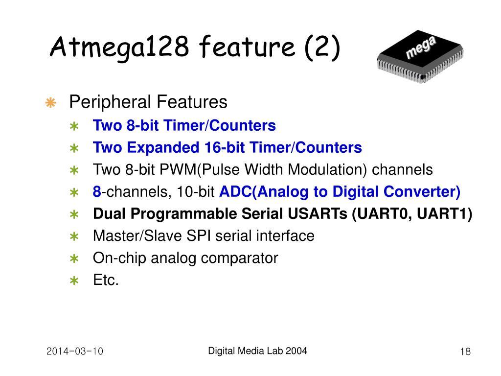Atmega128 feature (2)