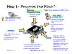 how to program the flash