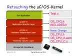 retouching the uc os kernel50
