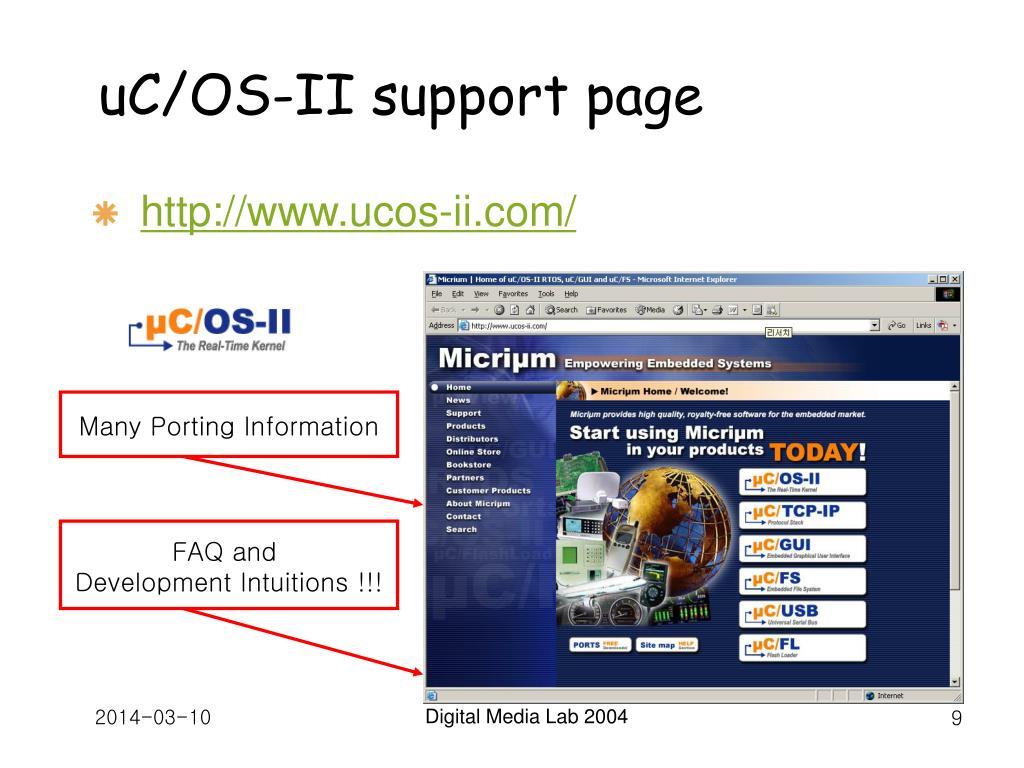 Many Porting Information