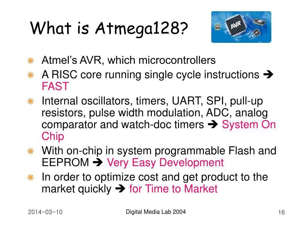 What is Atmega128?
