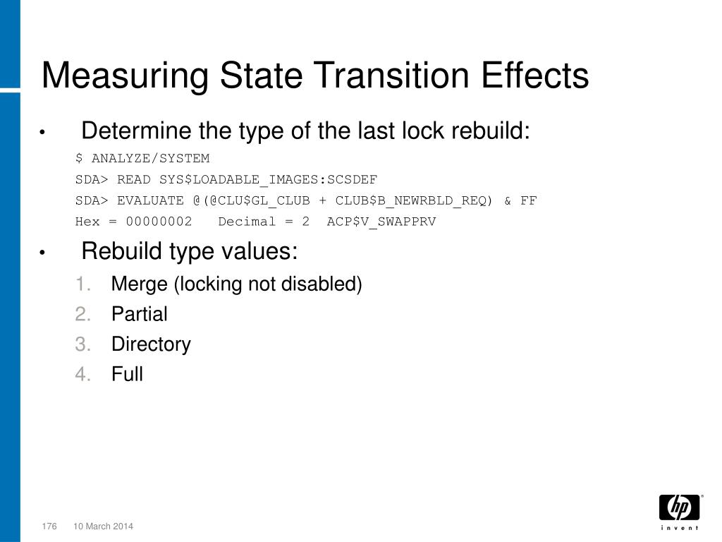 Measuring State Transition Effects