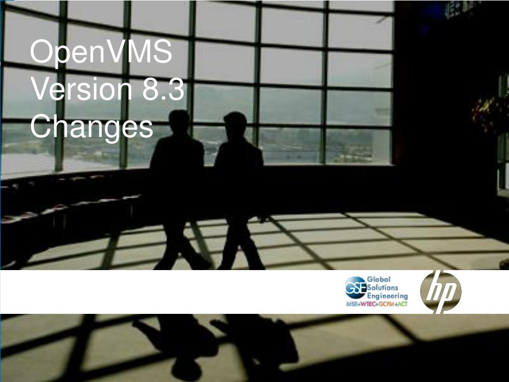 OpenVMS Version 8.3 Changes