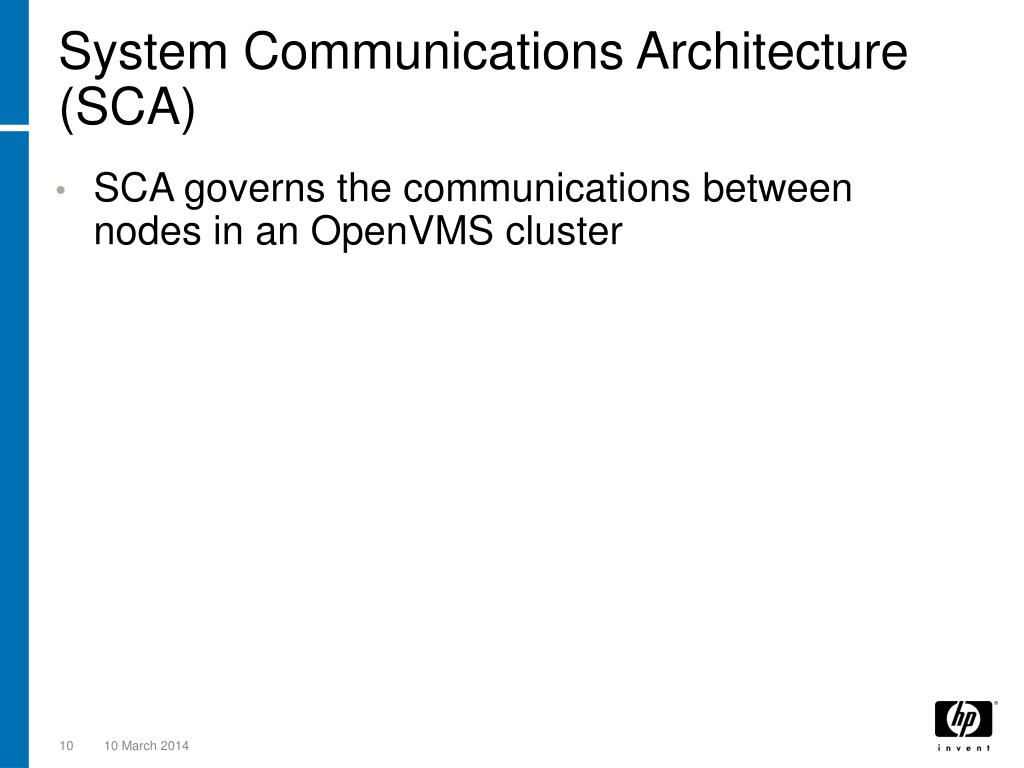 System Communications Architecture (SCA)