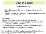 doel en design2