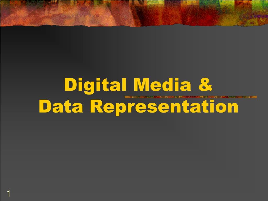 digital media data representation l.