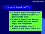 processo de deposi o pvd