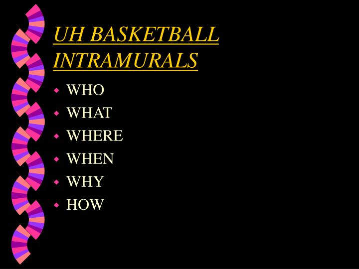 uh basketball intramurals n.