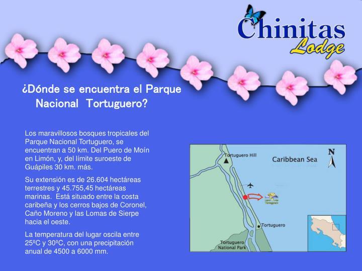 ¿Dónde se encuentra el Parque Nacional  Tortuguero?