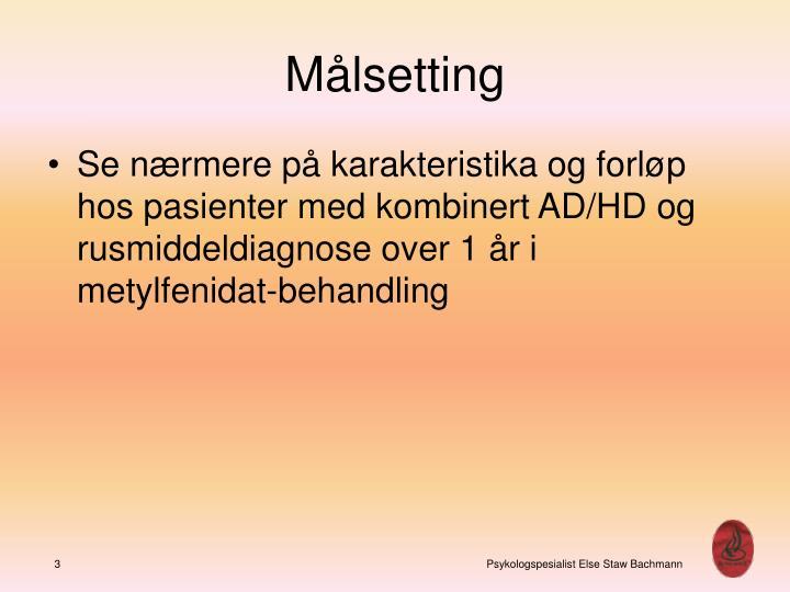 M lsetting