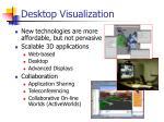 desktop visualization