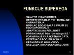funkcije superega