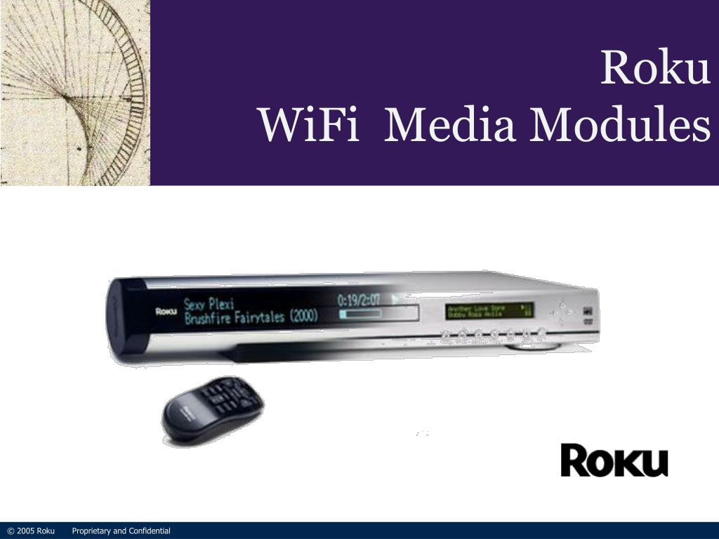 roku wifi media modules l.