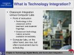what is technology integration8